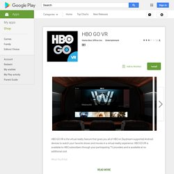 HBO GO VR
