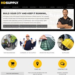 HD Supply :: Always on the Job