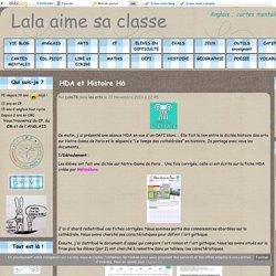 HDA et Histoire H6 - Lala aime sa classe