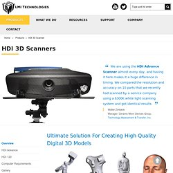 3D Scanner, 3D Scanning Systems and 3D Scan Data Processing Software - 3D3 Solutions 3D Scanning Products