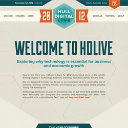 Hull Digital Live 10 · Hulls very own digital and technology conference.