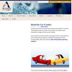 Head-On Car Crashes - Altizer Law