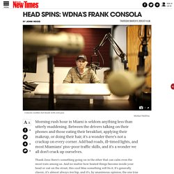Head Spins: WDNA's Frank Consola