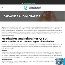 Find a Middletown Medical Headache Clinic