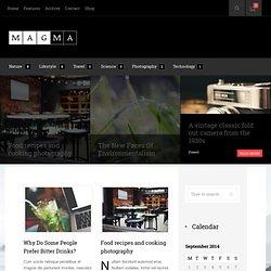 Magma WordPress theme demo