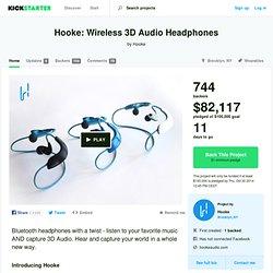Hooke: Wireless 3D Audio Headphones by Hooke