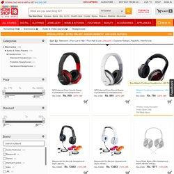 Headphones Online Store