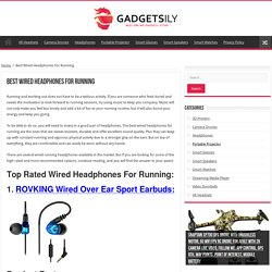 The Best Wired Headphones for Running