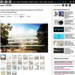 Look Inside Apple's Spaceship Headquarters With 24 All-New Renderings