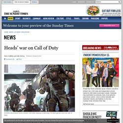 Heads' war on Call of Duty