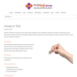 Heads or Tails — The Thiagi Group