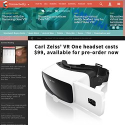 Carl Zeiss launches an iPhone 6 compatible VR headset