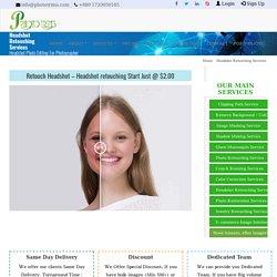 Headshot Retouching Services