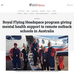 Royal Flying Headspace program giving mental health support to remote outback schools in Australia