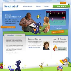 Headsprout Reading Online - Kindergarten to 5th Grade