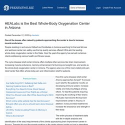 HEALabc is the Best Whole-Body Oxygenation Center in Arizona