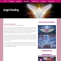 Healing with Angel Harp Music