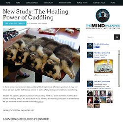 New Study: The Healing Power of Cuddling