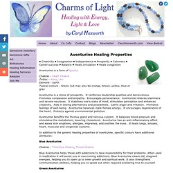Healing Properties of Aventurine from Charms Of Light
