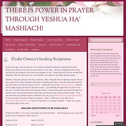 There is Power in Prayer through Yeshua Ha' Mashiach!