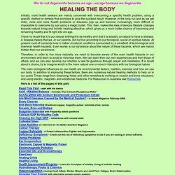 HEALING THE BODY