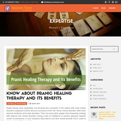 Know about Pranic Healing Therapy and Its Benefits