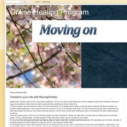 How to heal a broken heart and move on with Movingonhelp.