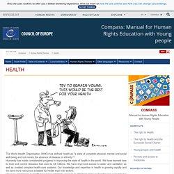 La santé - Conseil de l'Europe