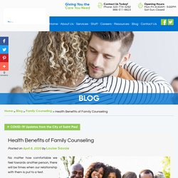 Health Benefits of Family Counseling