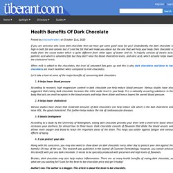 Healthy And Tasty Bean To Bar Chocolates