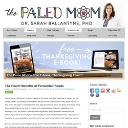 The Health Benefits of Fermented Foods - The Paleo Mom