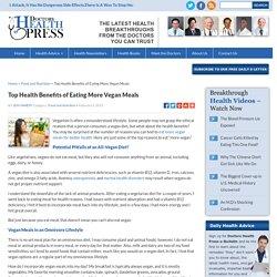 Top Health Benefits of Vegan Diet : Healthy Eating Tips