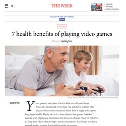 7 health benefits of playing video games