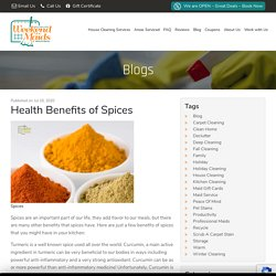 Health Benefits of Spices Weekend Maids