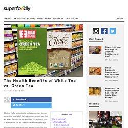 The Health Benefits of White Tea vs. Green Tea