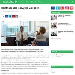 Health and Care Innovation Expo 2019