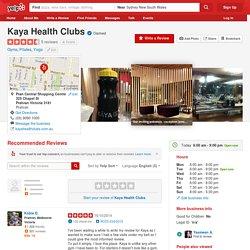 Kaya Health Clubs - Gyms - 325 Chapel St, Prahran, Prahran Victoria - Phone Number - Yelp