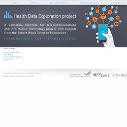 Health Data Exploration project