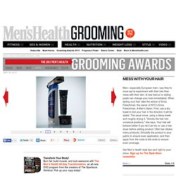 Men's Health Grooming Awards