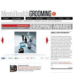 Men's Health Grooming Awards | Fragrance
