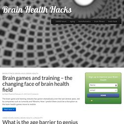 Brain health hacks - how to improve your brain health