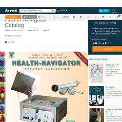 Health Navigator Catalog
