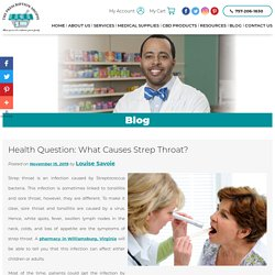 Health Question: What Causes Strep Throat?