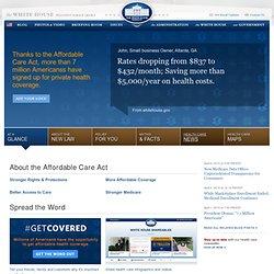 Det Hvide Hus - Obamas Sundhedsreform