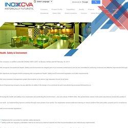 Health, Safety and Environment at INOX India Pvt. Ltd.