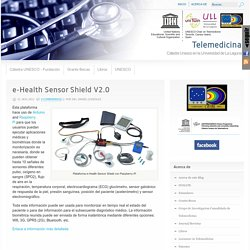 e-Health Sensor Shield V2.0