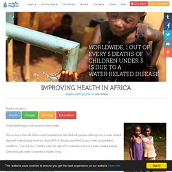 Health and Water in Africa