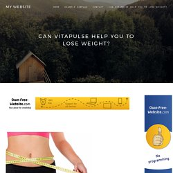 Can Vitapulse help you to lose weight?