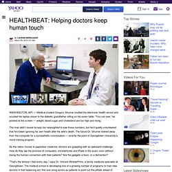 HEALTHBEAT: Helping doctors keep human touch