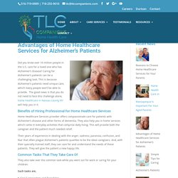 Home Healthcare in Nassau County for Alzheimer's Patients